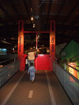 ScienceWorks Nitty Gritty Super City