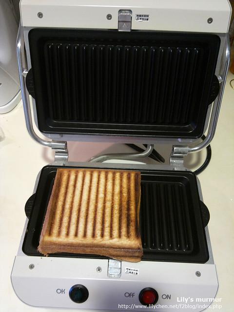Moffle多功能麻糬/鬆餅機做三明治真的好方便喔!!