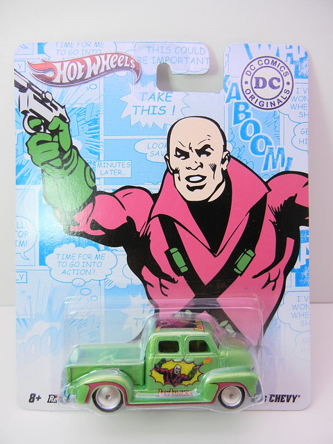 HOT WHEELS NOSTALGIA DC COMICS LEX LUTHOR '50'S CHEVY (1)