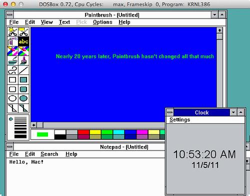 Notepad & Paintbrush on Mac