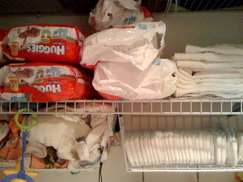 diapers galore