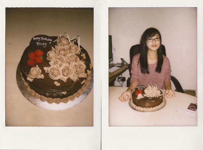 becky's14th instax