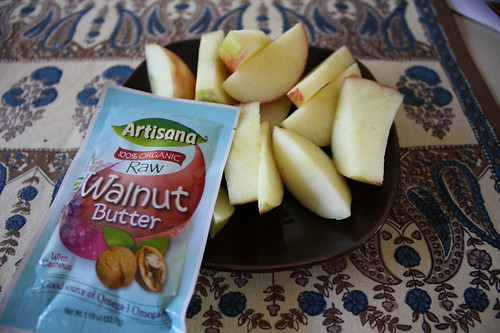 Walnut Butter Artisana apples