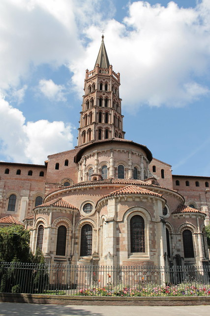 Chevet, Basilique Saint-Sernin