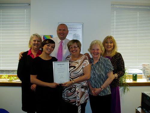 Age Scotland Enterprises staff