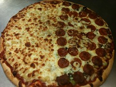 Paisans Pizza. Fresh out the oven.