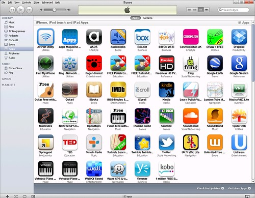ios ipad istore apps