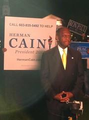 Herman Cain At Dartmouth