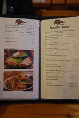 Noodle Dishes, Soup Table Cooking menu - Kimch...