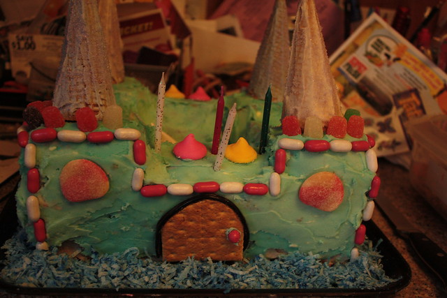 The castle cake