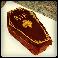 Brownie coffin