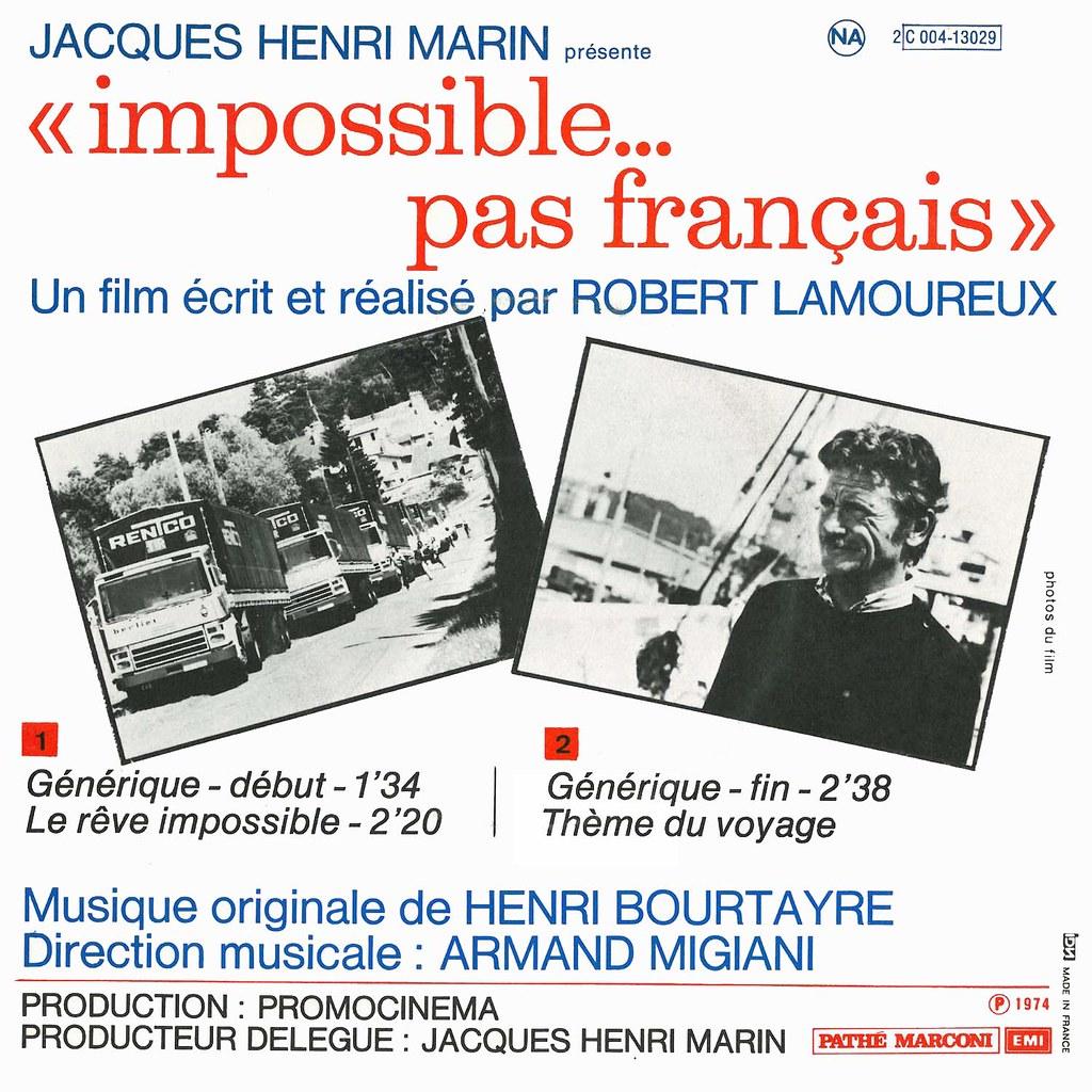 Henri Bourtayre - Impossible pas français