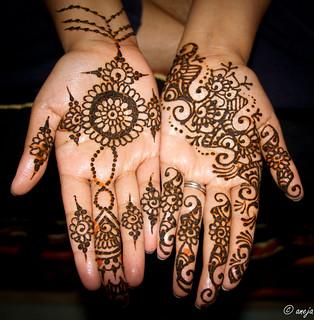 Kiki henna for karva chauth
