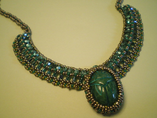Book of the Dead Scarab Necklace