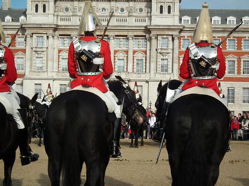 Relève de la garde à cheval - Whitehall
