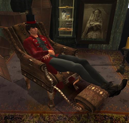 Cedar Bay Furnishings - Steampunk Physician's Chair
