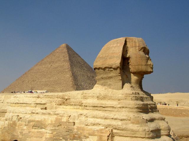 The Great Pyramids & Sphinx in Giza