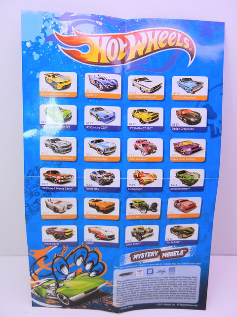 2011 hot wheels mystery cars blind pack (2)