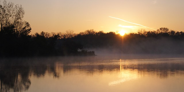 Chill Morning on the Pond