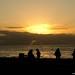 A Dusk Silhouette - La Jolla Coves