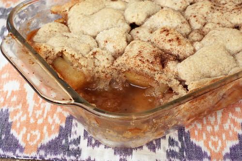 Gluten-free Vegan Apple Cobbler