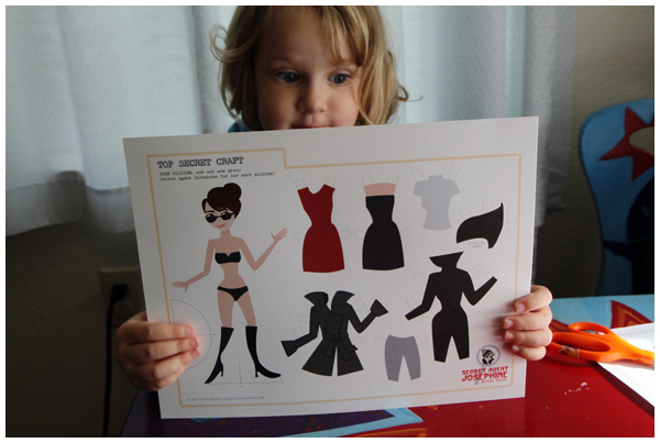 Secret Agent Josephine Book Tour, Paper Dolls and Giveaway