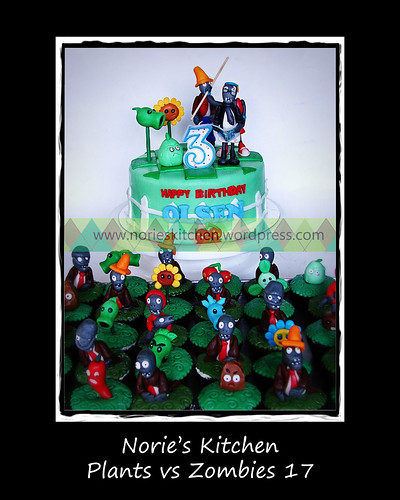 Norie's Kitchen - Plants vs Zombies Cake 17 by Norie's Kitchen