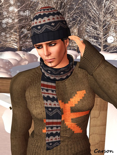 FIR & MNA - Aran Cap and Scarf