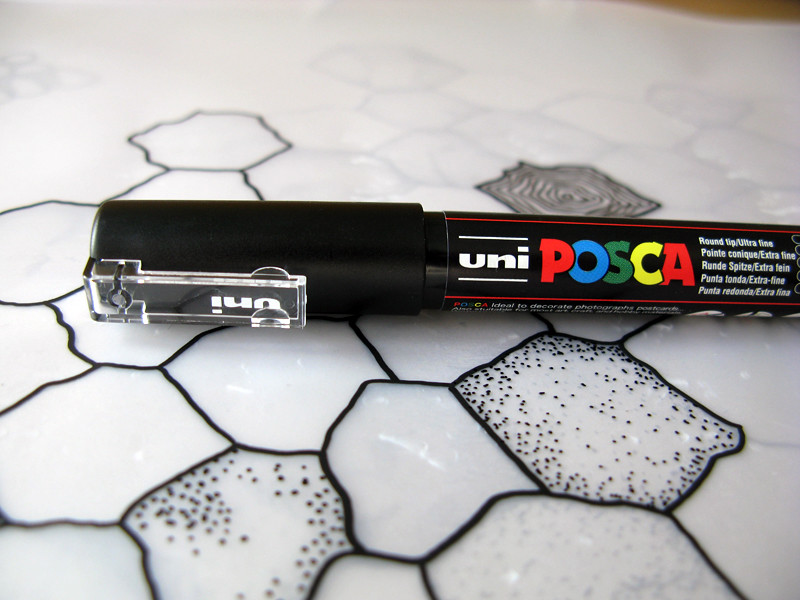 how to keep paint pens from drying out