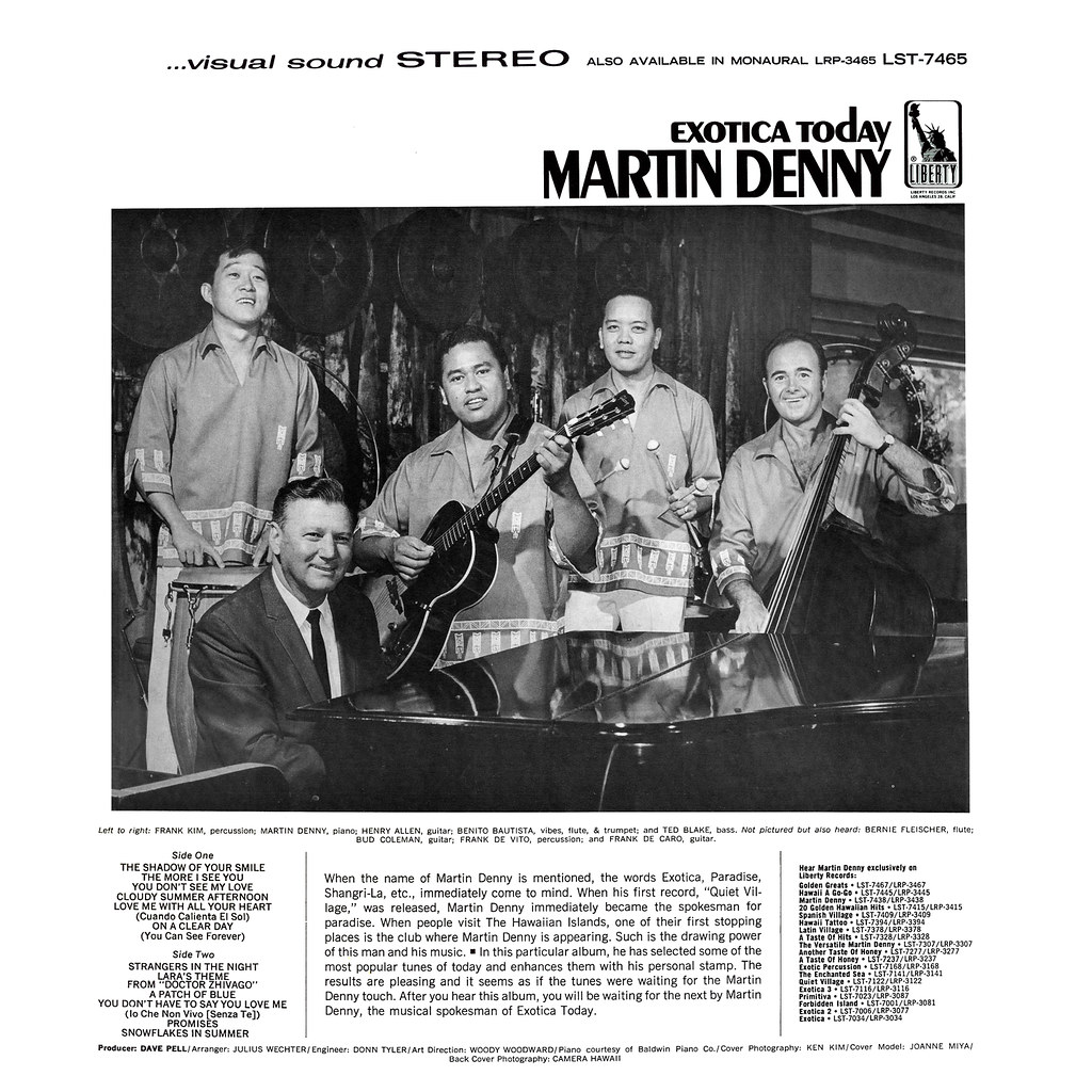 Martin Denny - Exotica Today