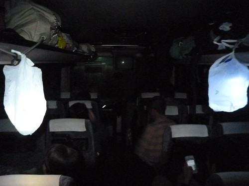 二号車, 牡鹿半島大原でボランティア Volunteer at Ohara, Oshika Peninsula, Miyagi pref. Deeply Affected Area by the Tsunami
