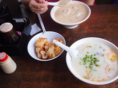 Porridge and fried dough fritters, Ah Chiang Traditional Porridge, Tiong Poh Road, Tiong Bahru Estate