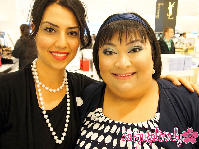 Armani Makeover at Holt Renfrew