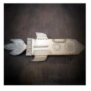 Brooch Rocket