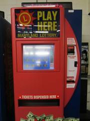 maryland lottery vending machine @ lexington m...