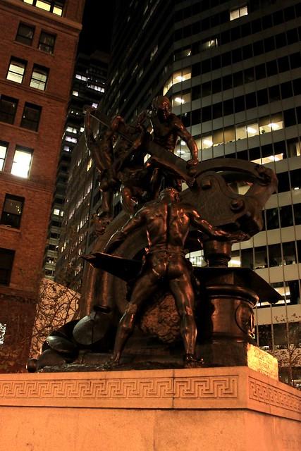 Men statue