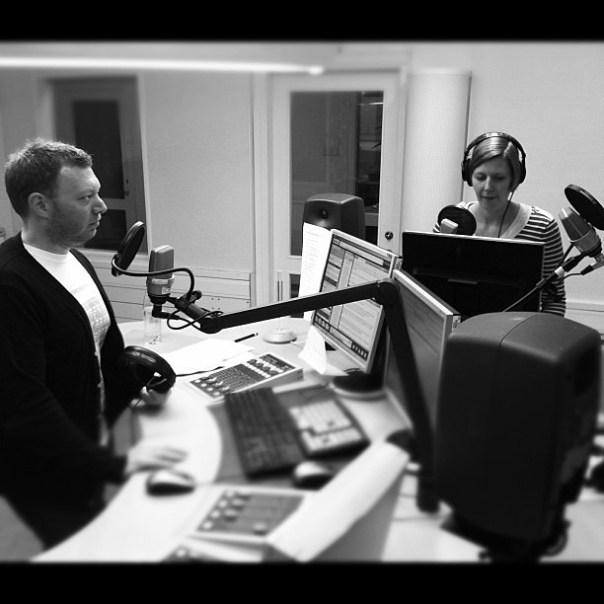Radiomys med @boskr och @karinhallsten i #alltidnyheter tidigare idag.