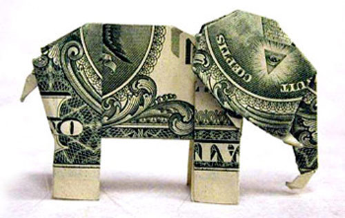 Insane Money Origami