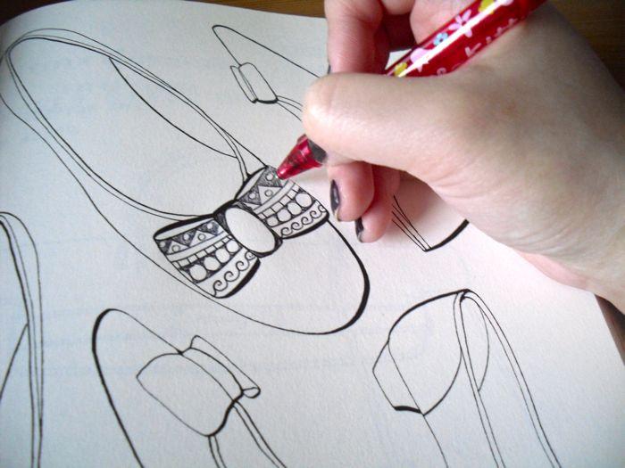 shoe doodles