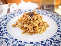 Tagliatelle con Salsiccia e Tartufo, Pietrasanta Italian Restaurant, 5B Portsdown Road, Wessex Village, Singapore