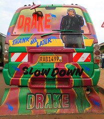 Drake Minibus, Kigali