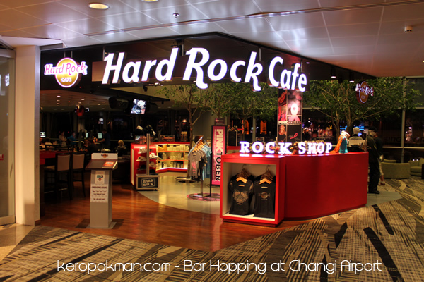 Changi Airport - Hard Rock Cafe