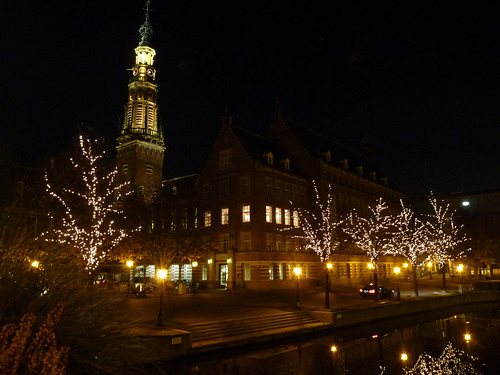 Lit trees and the stadhuis