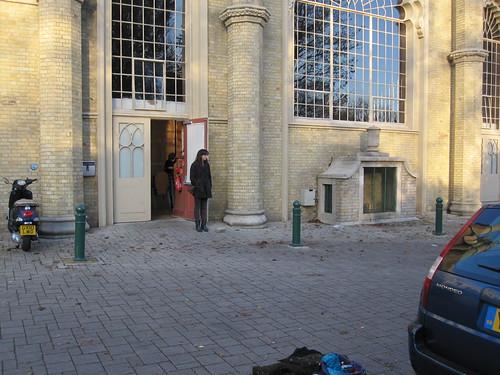 Outside Brighton Corn Exchange