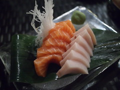 Sashimi, Raku Japanese Restaurant & Bar, Greenwood Avenue