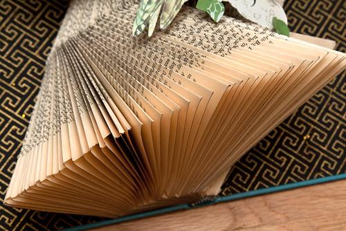 Altered Books- Long eared owl-3
