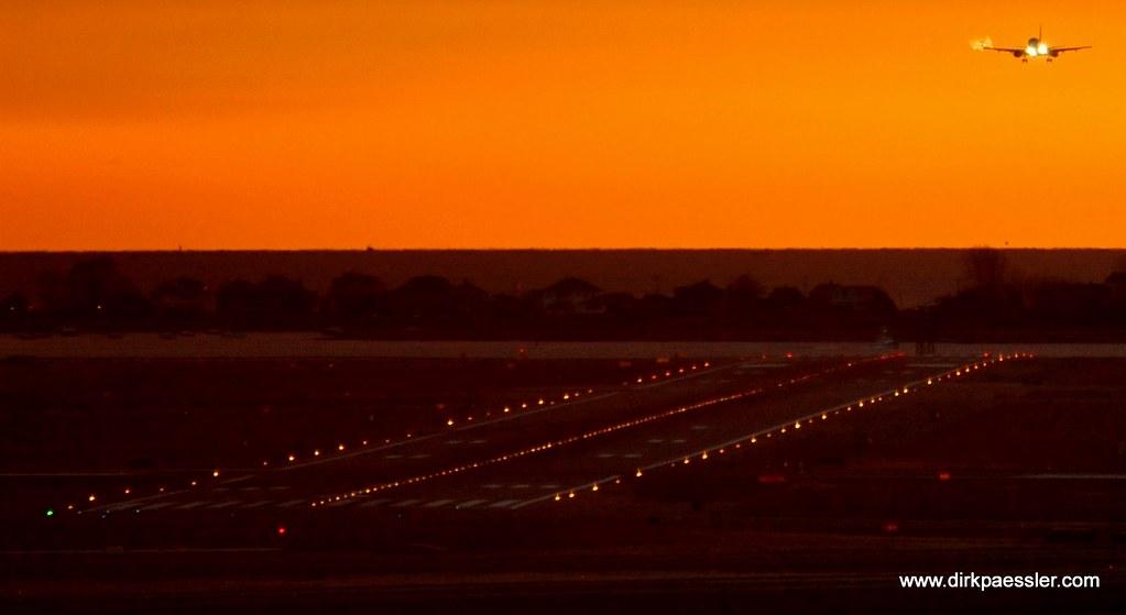 Logan Airport, Boston by Dirk Paessler