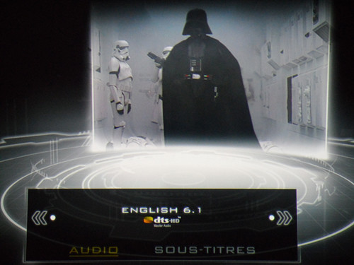 Star Wars : episode IV - sound menu