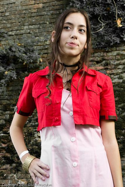 Aeris cosplay