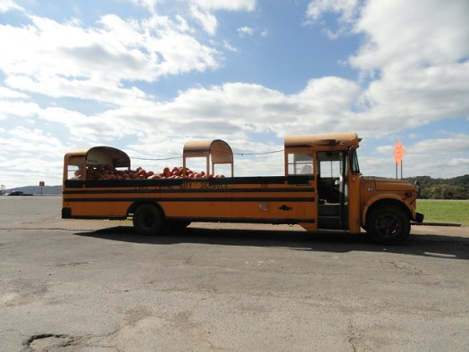 Bus of Pumpkins